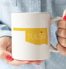 rock scissors paper tulsa love mug