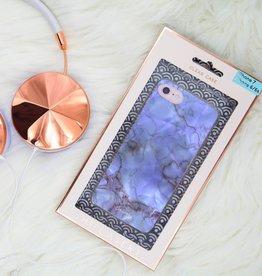 casery blue marble iphone case 8plus/7plus/6plus