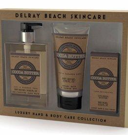 Delray Beach Cocoa Butter Set