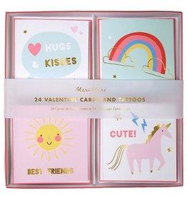 meri meri Unicorn Valentines Cards