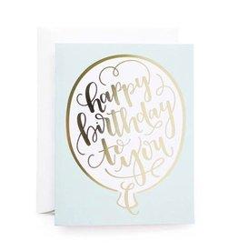 alexis mattox design birthday balloon card