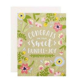 alexis mattox design congrats on your sweet bundle of joy printed card