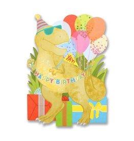 alexis mattox design dino birthday die cut card