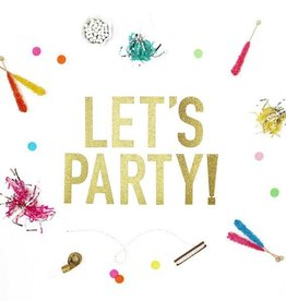 alexis mattox design lets party glitter banner