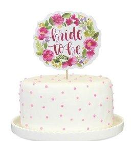 alexis mattox design bride to be cake topper