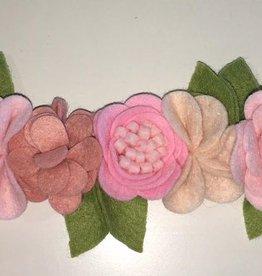 little wild petals ballerina felt flower crown