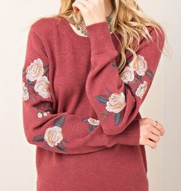 marsala pullover sweater FINAL SALE
