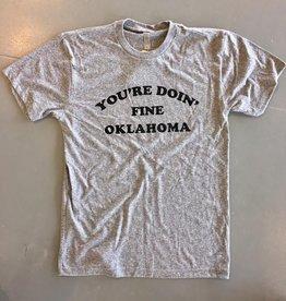 Opolis you're doin fine oklahoma crew tee