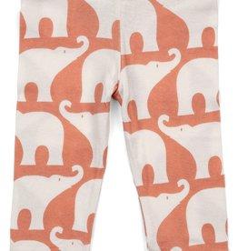 milkbarn legging - rose elephant