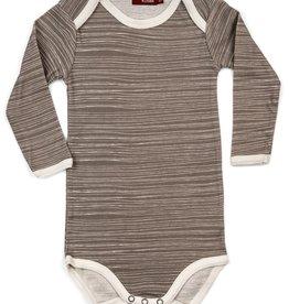 milkbarn long sleeve one piece - stripe