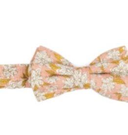 milkbarn rose floral bow tie