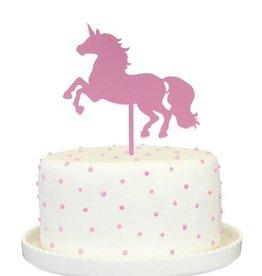 alexis mattox design unicorn cake topper