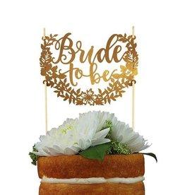 alexis mattox design bride to be paper cake topper