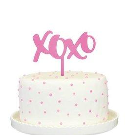 alexis mattox design xoxo cake topper