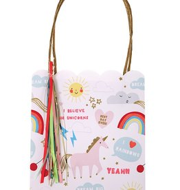 meri meri rainbow/unicorn party bags (set of 8)