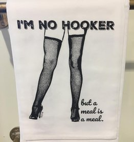twisted wares im no hooker kitchen towel
