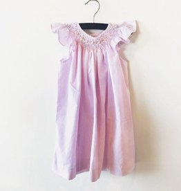 melissa stripe smocked dress