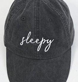 friday + saturday sleepy hat