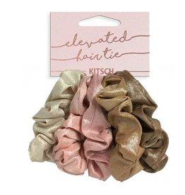scrunchie 5pc set - blush/mauve