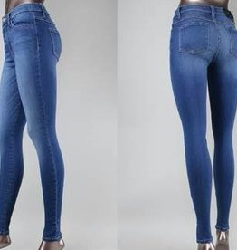 high waist xtra lycra super soft skinny jean
