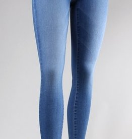 super soft skinny high rise jeans
