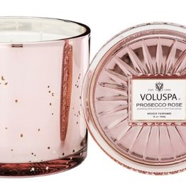 voluspa prosecco rose grande maison candle with lid