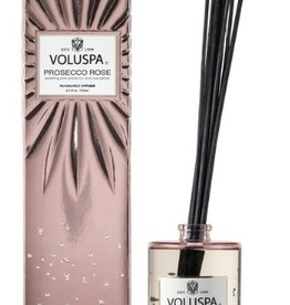 voluspa prosecco rose fragrance diffuser