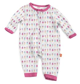 Magnificent Baby ice cream modal magnetic coverall