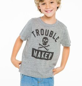 trouble maker triblend tee