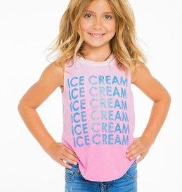 ice cream vintage jersey muscle tank