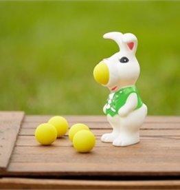 two's company bunny air powered foam ball