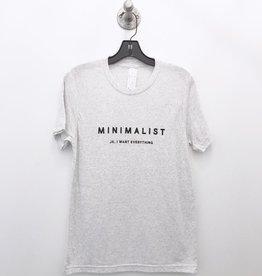 ady belle minimalist jk i want everything tee
