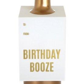 chez gagne birthday booze wine tag