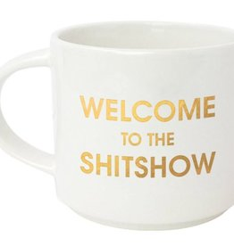 chez gagne welcome to the shitshow mug