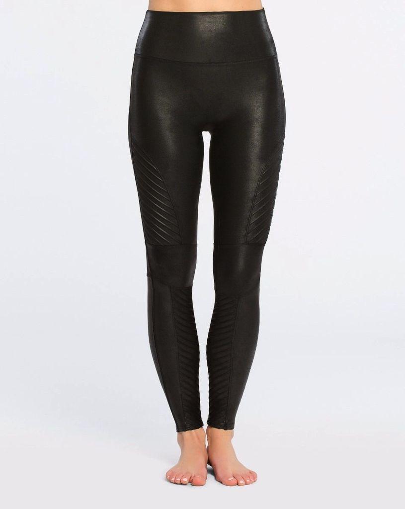 spanx spanx faux leather moto leggings