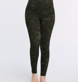 spanx spanx green camo look at me now leggings