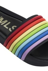 mini melissa beach slide 3d rainbow