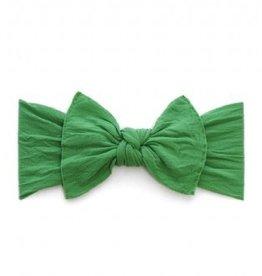 Baby Bling KNOT: shamrock green