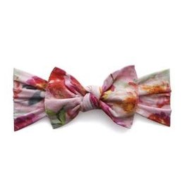 Baby Bling PRINTED KNOT: soft pink floral
