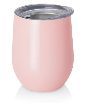 swig 12oz stemless wine cup - pink