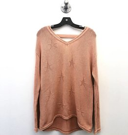 vintage havana dusty pink star sweater