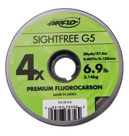 Airflo Airflo Sightfree G5 Fluorocarbon Tippet - 30yd