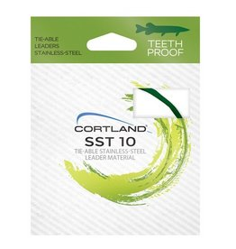 Cortland Cortland SST 10' 35 lbs Tie-Able Stainless Steel Leader