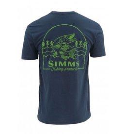 Simms Simms Weekend Muskie Short-Sleeve T