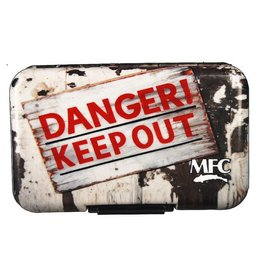 Montana Fly Co. MFC Poly Box - Danger Keep Out
