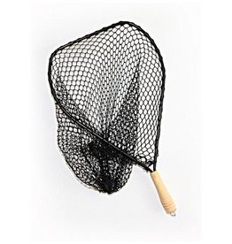 Successful Angler Competition River Net - Black Frame w/ Wood Handle
