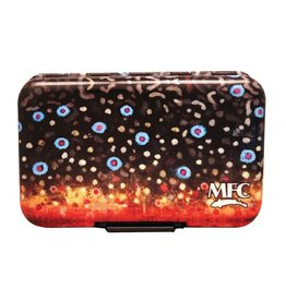Montana Fly Co. MFC Aluminum Slit Foam Box - Sundell's Brook Trout Skin