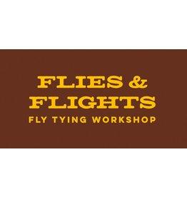 DRIFT Flies & Flights - Left Field Brewery - Fly Tying Night