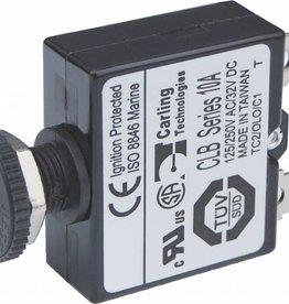 Blue Sea Push Button Circuit breaker 3A - 40A