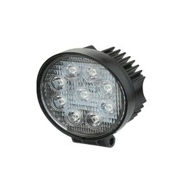 LUMINAIR WORK LIGHT ROUND 12V 27W FLOOD  OA3270R-F